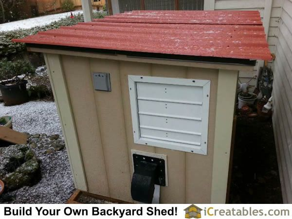 Fresh Air Exhaust Using Home Powered Gable Vent Generator Exhaust