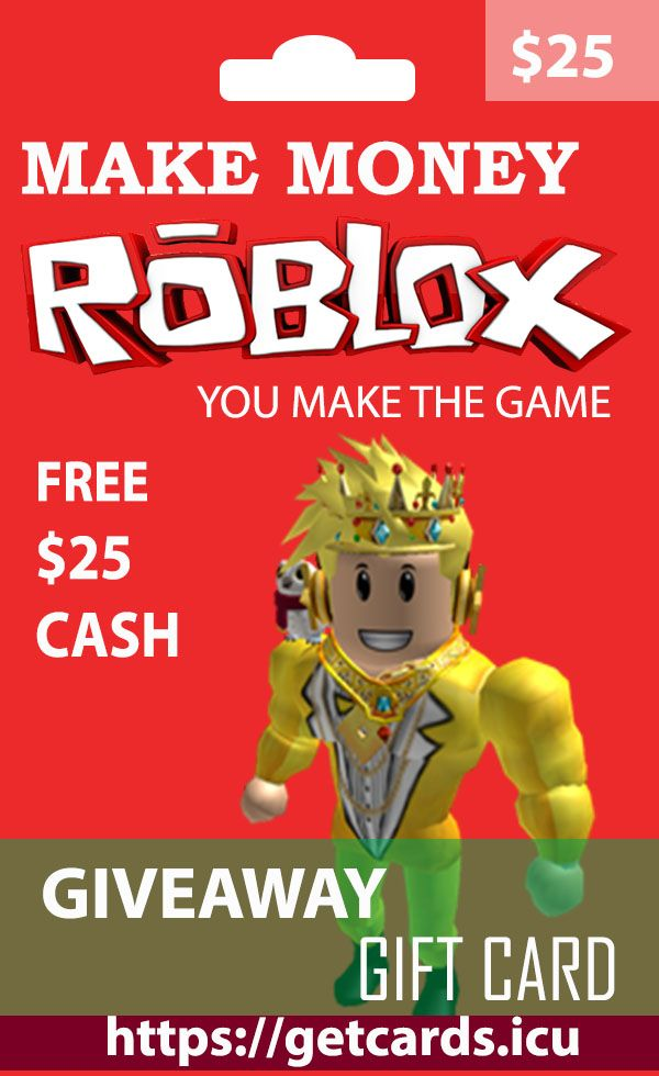 Free Robux Gift Card Giveaway Earn Free Roblox Gift Card Codes In