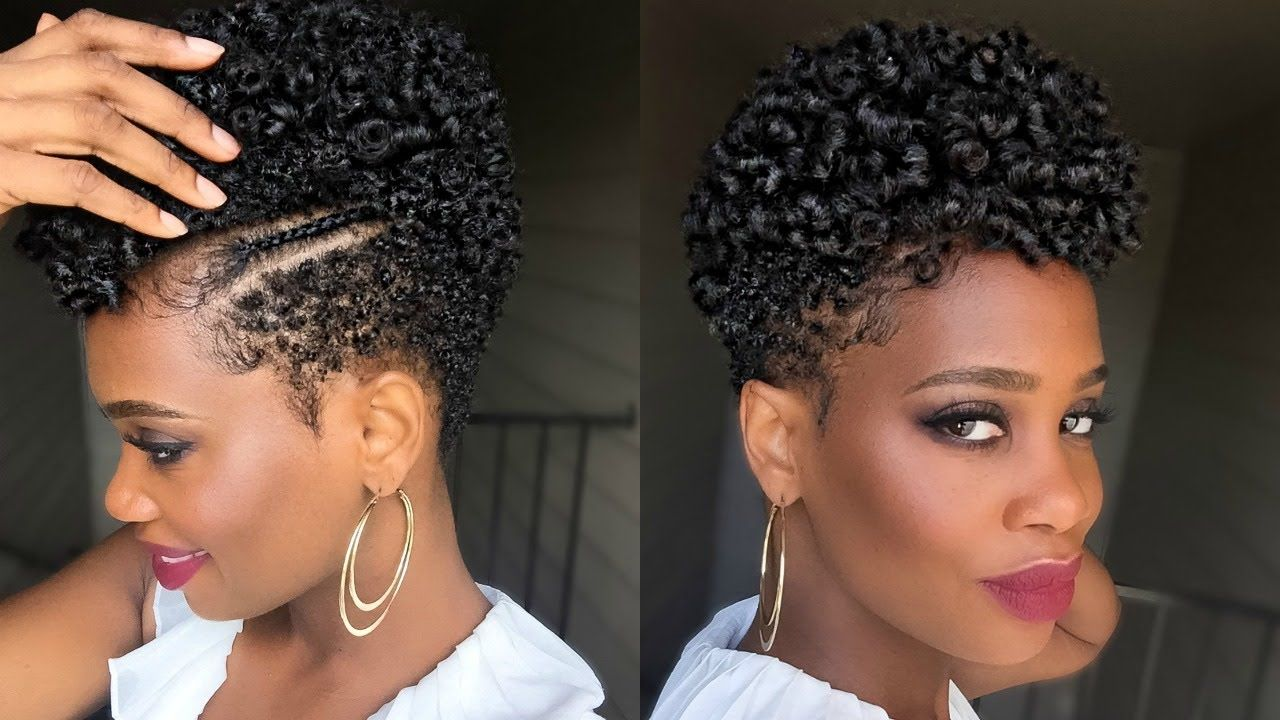 Perm Rod Set On Tapered Natural Hair In Under An Hour 1