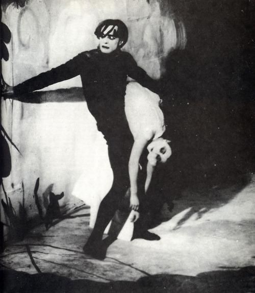 The Cabinet Of Dr Caligari 1920 Cesare Conrad Veidt The