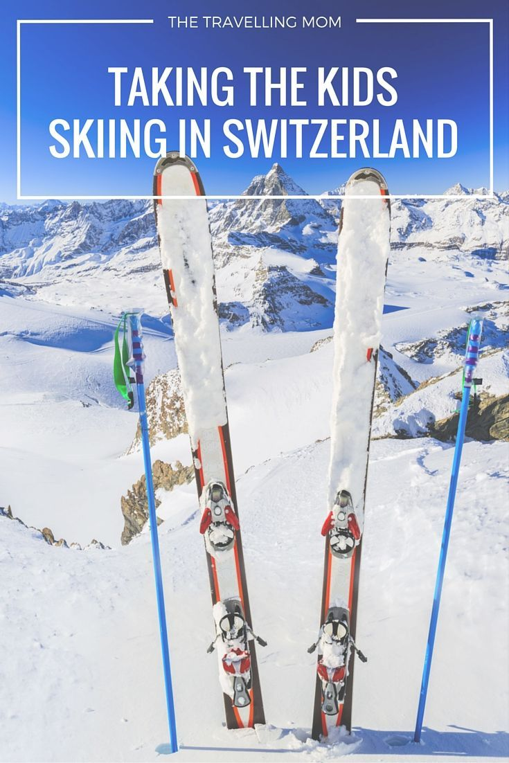 Dreaming of carving your way down the Swiss Alps with the family? Tips on how to take your kids skiing in Switzerland.   thetravellingmom.ca