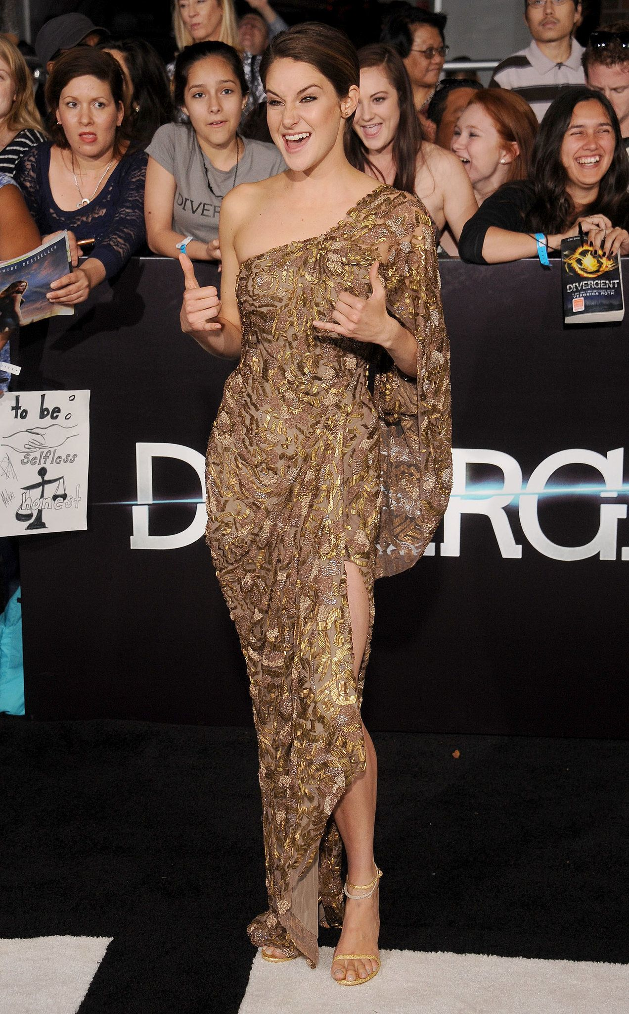 Premiere Shailene Famous La People The Pinterest At Divergent zqranI8Aq
