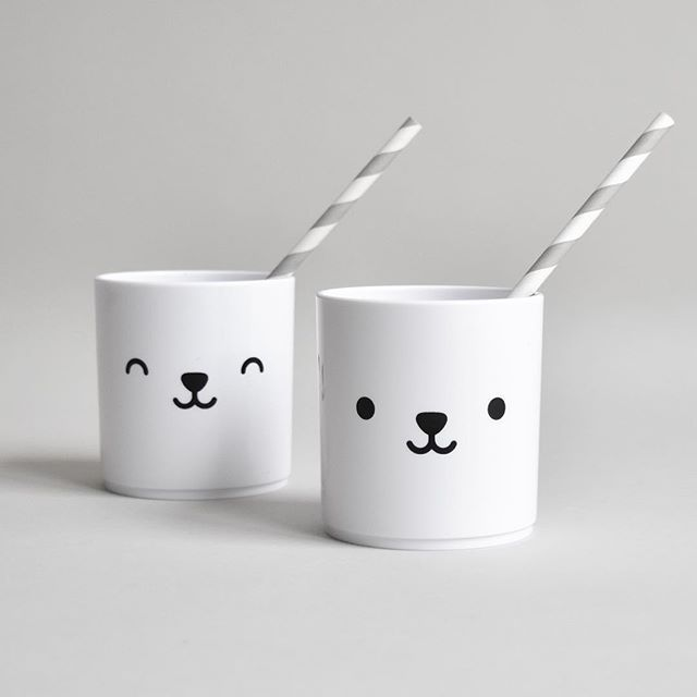 Love these double sided tumblers. Which bear are we today? Happy or sleepy...🐻