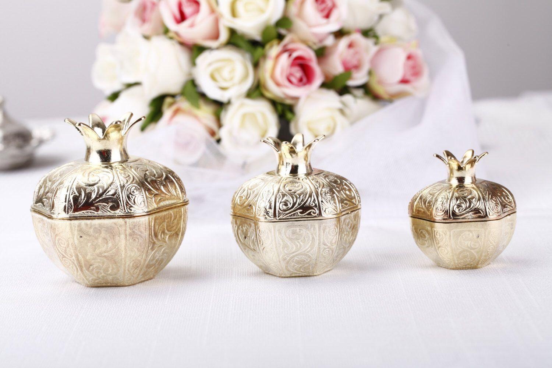 Gold wedding favor boxes, gold wedding decorations,cheap wedding ...