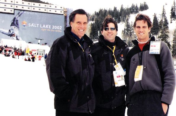 This picture of Tagg and Josh with Mitt at the 2002 Olympic Games in Utah still inspires me. Mitt worked tirelessly to help turn around the games