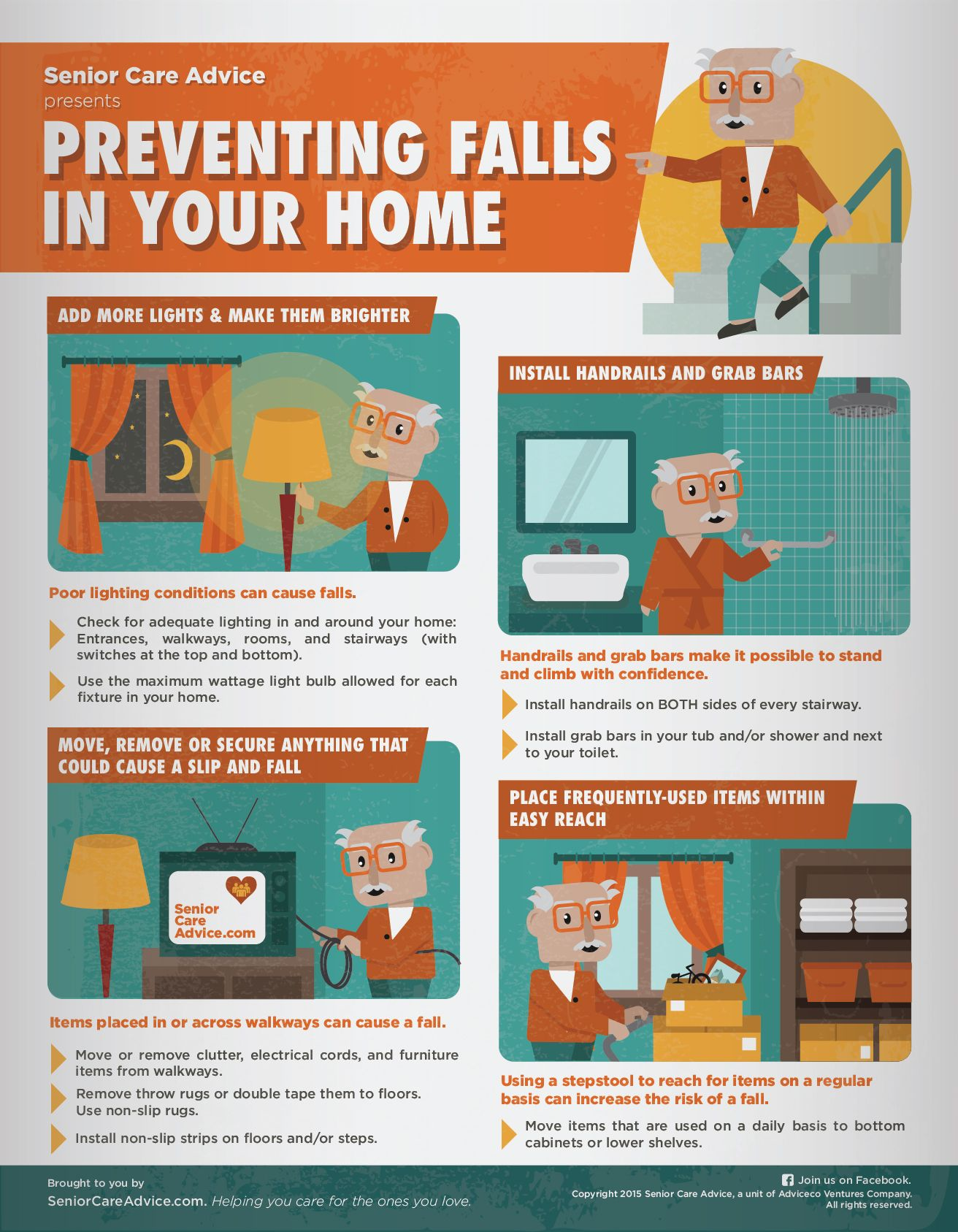 Preventing Falls in Your Home Fall prevention, Home