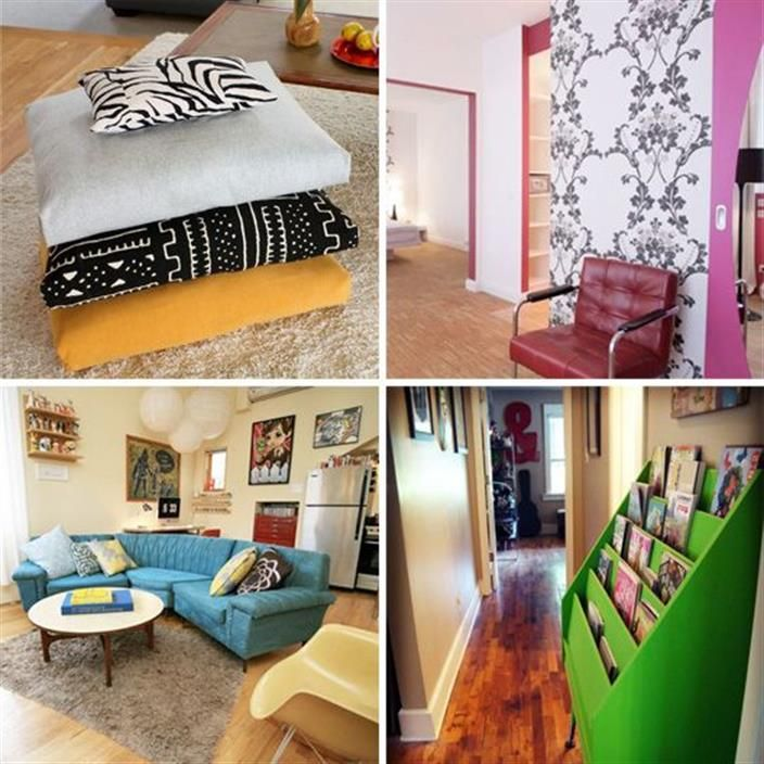 Studio Apartment Cheap: 20 Thrifty, Frugal & Inexpensive Decorating Ideas