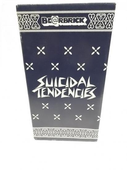 SUICIDAL TENDENCIES BE@RBRICK ベアブリック 400% - 100underground