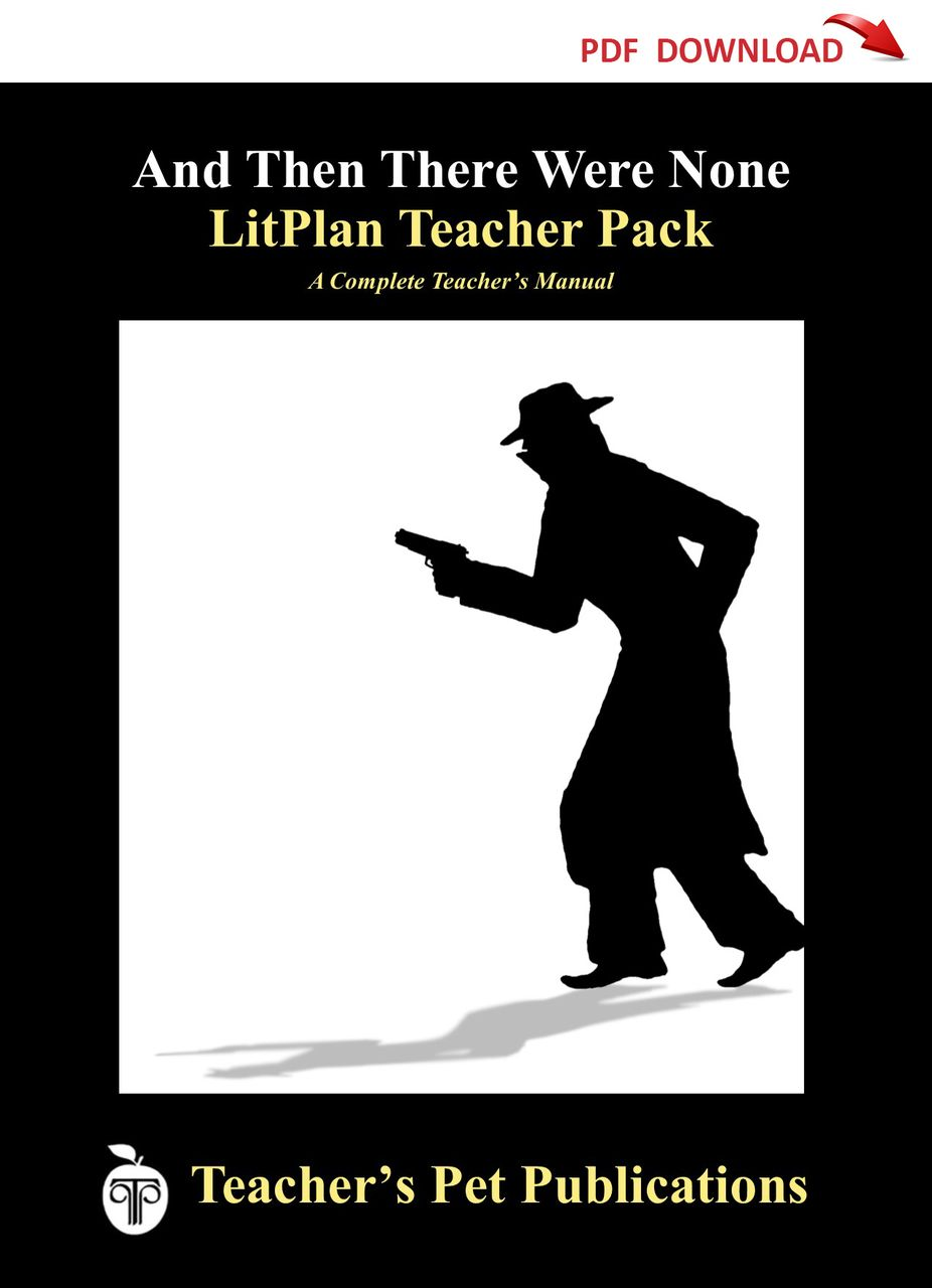 And Then There Were None Litplan Lesson Plans Download 2
