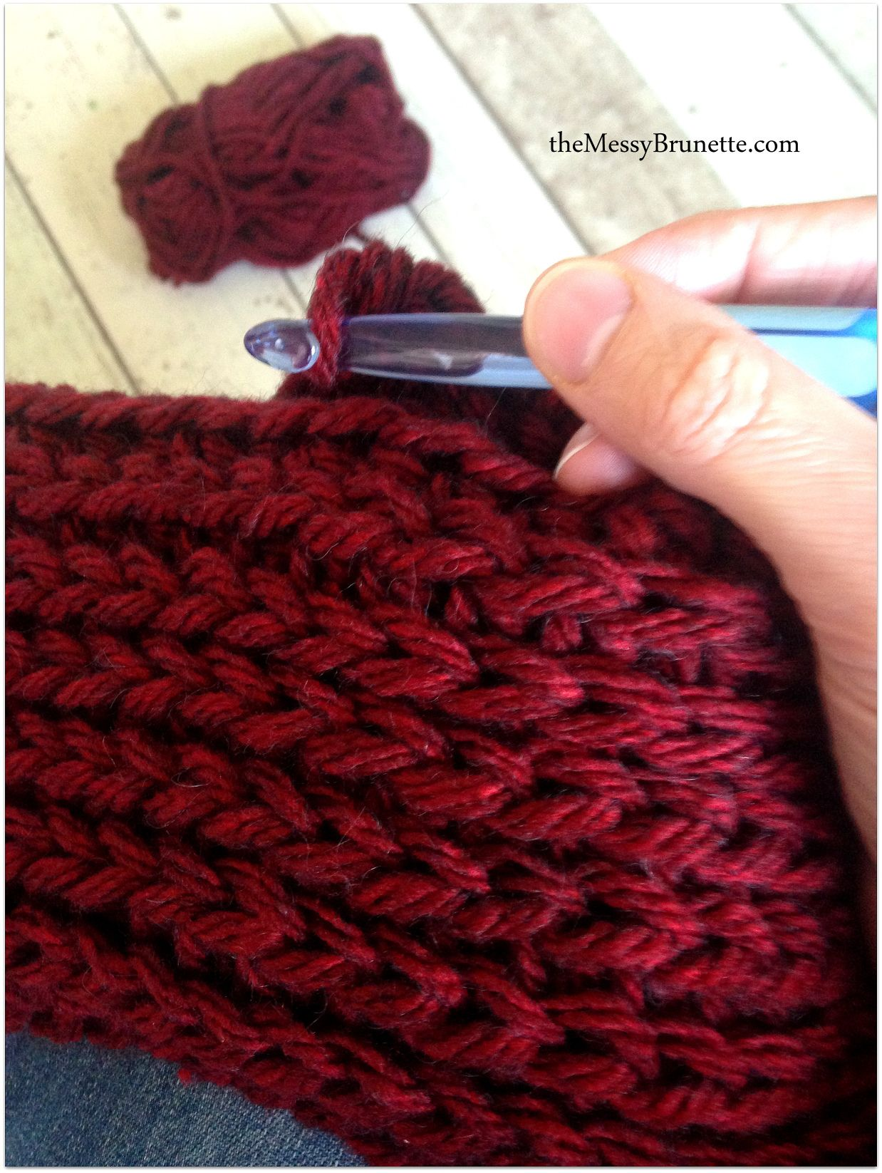 Crochet - the camel stitch or knit stitch | Scarfs | Pinterest ...