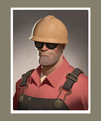 Team Fortress 2 Portrait Engineer Team Fortress Team Fortress