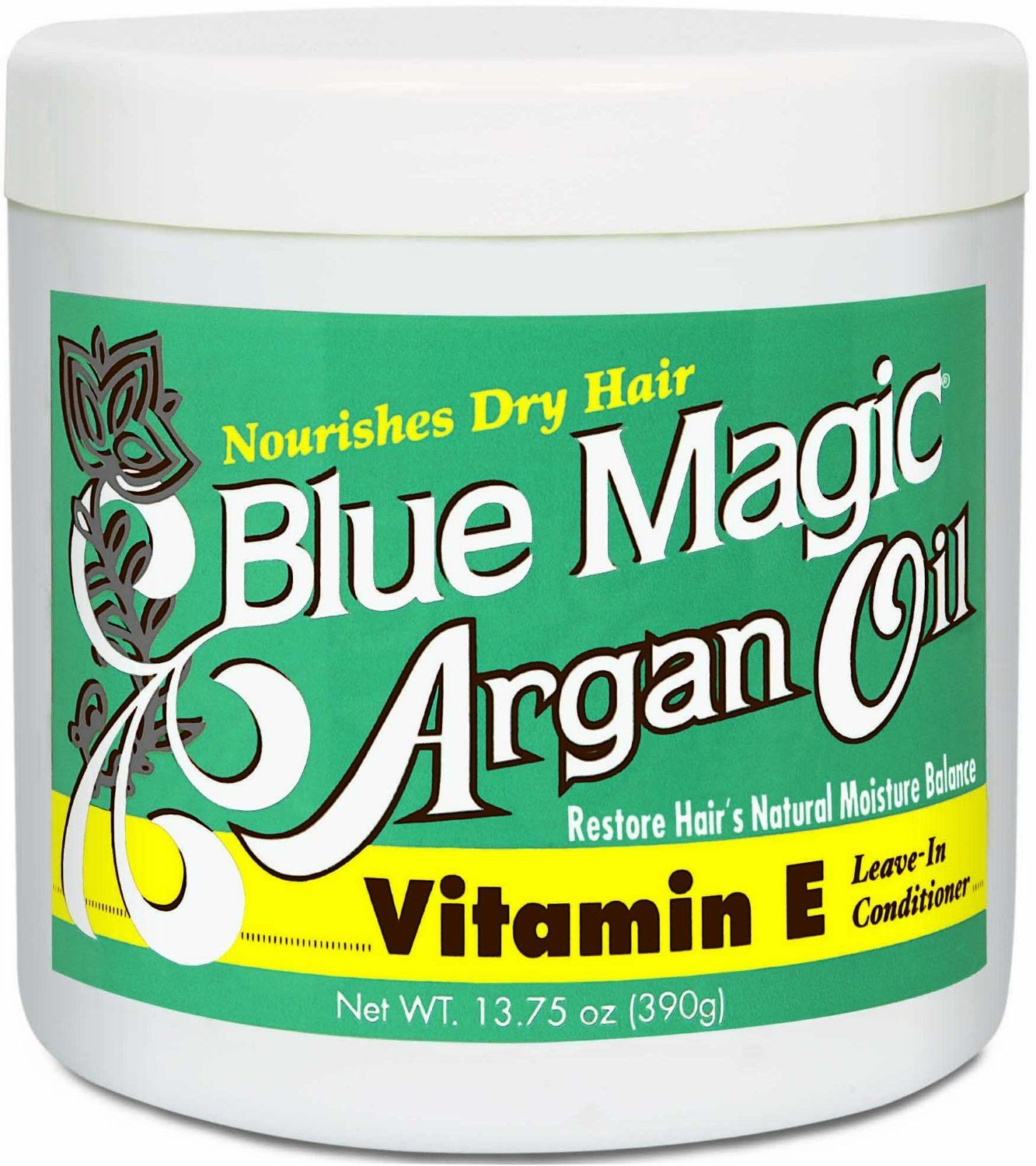 Blue Magic Argan Oil Vitamin E Leave In Conditioner 13 75 Oz