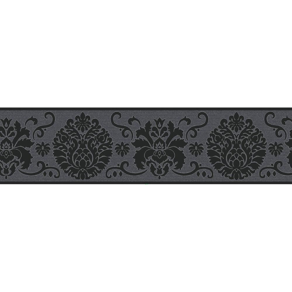 Brewster Campbell Scroll Peel And Stick Wallpaper Border