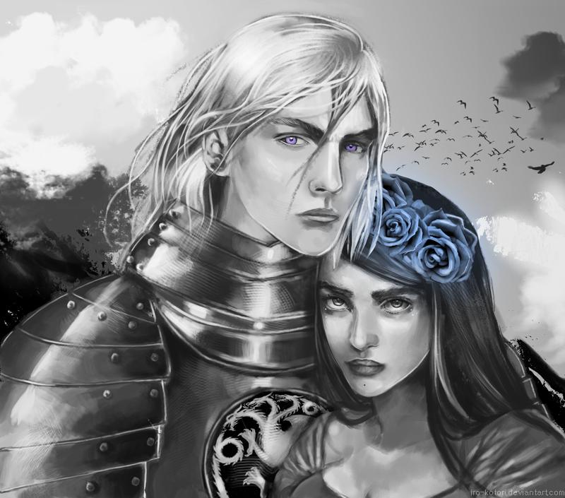 Image result for lyanna stark and rhaegar targaryen
