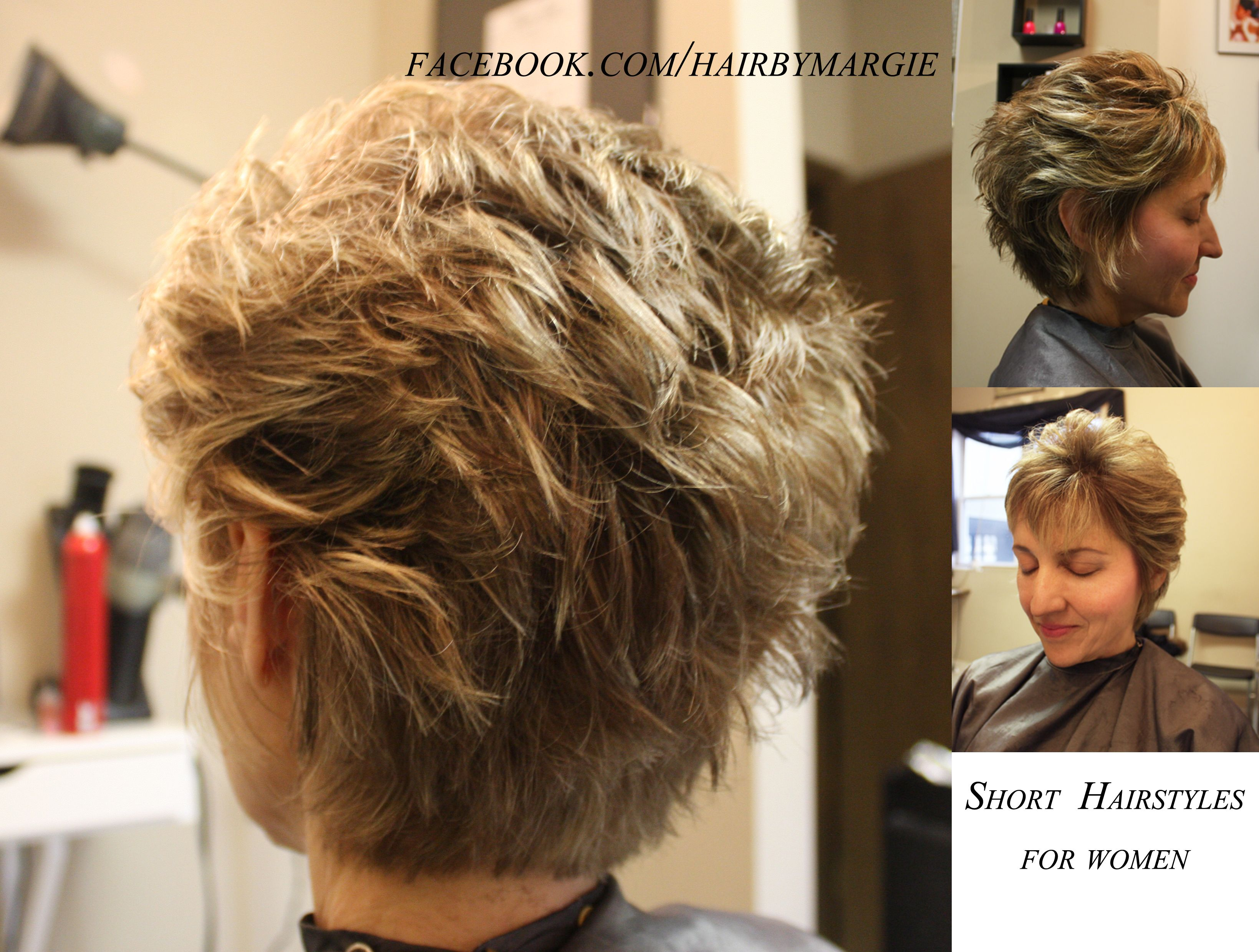 Lisa Rinna Inspired ort hair for older women