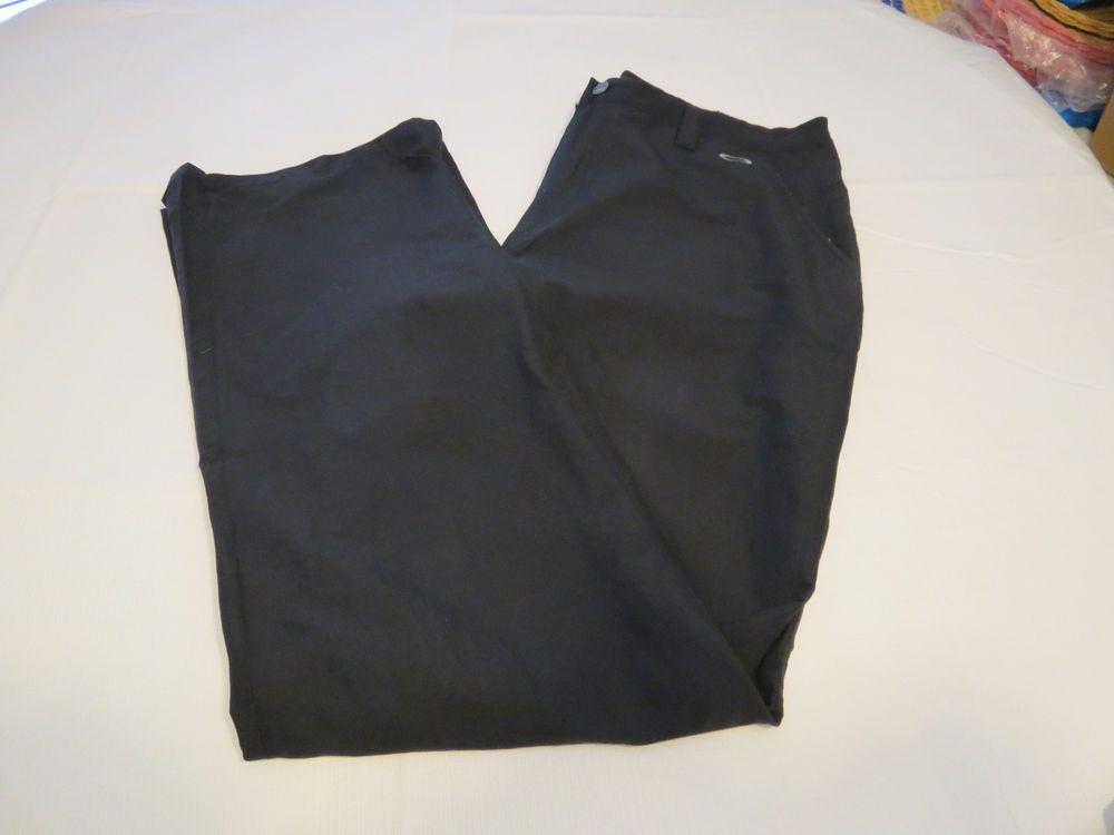 Mens Oakley Pant 38 pants slacks SP10 421248B 001 17578 black GUC@ #Oakley #CasualPants