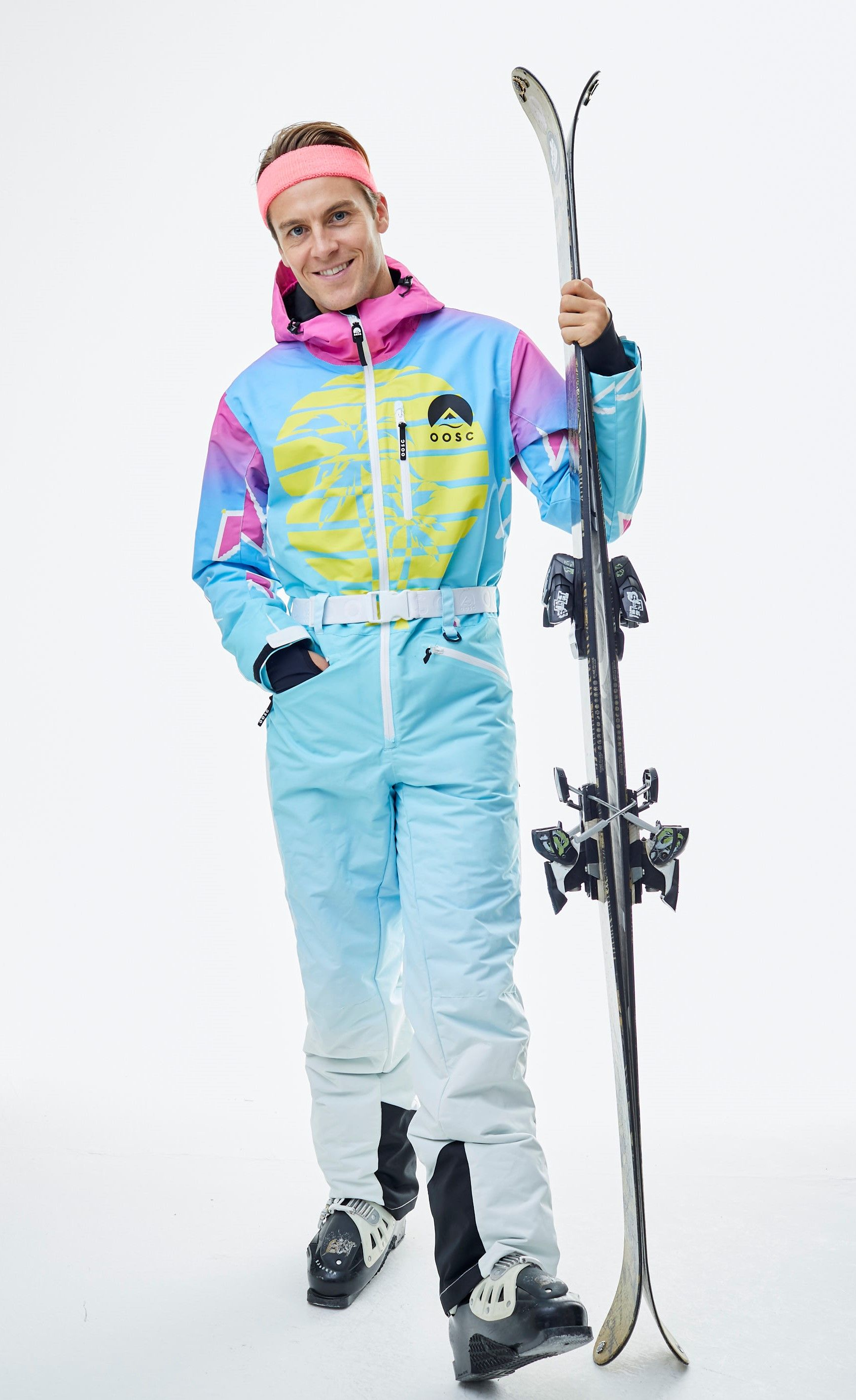 Balearic Baller Oosc Unisex One Piece Ski Suit Oosc Clothing In 2020 Clothes One Piece Retro Fashion 80s