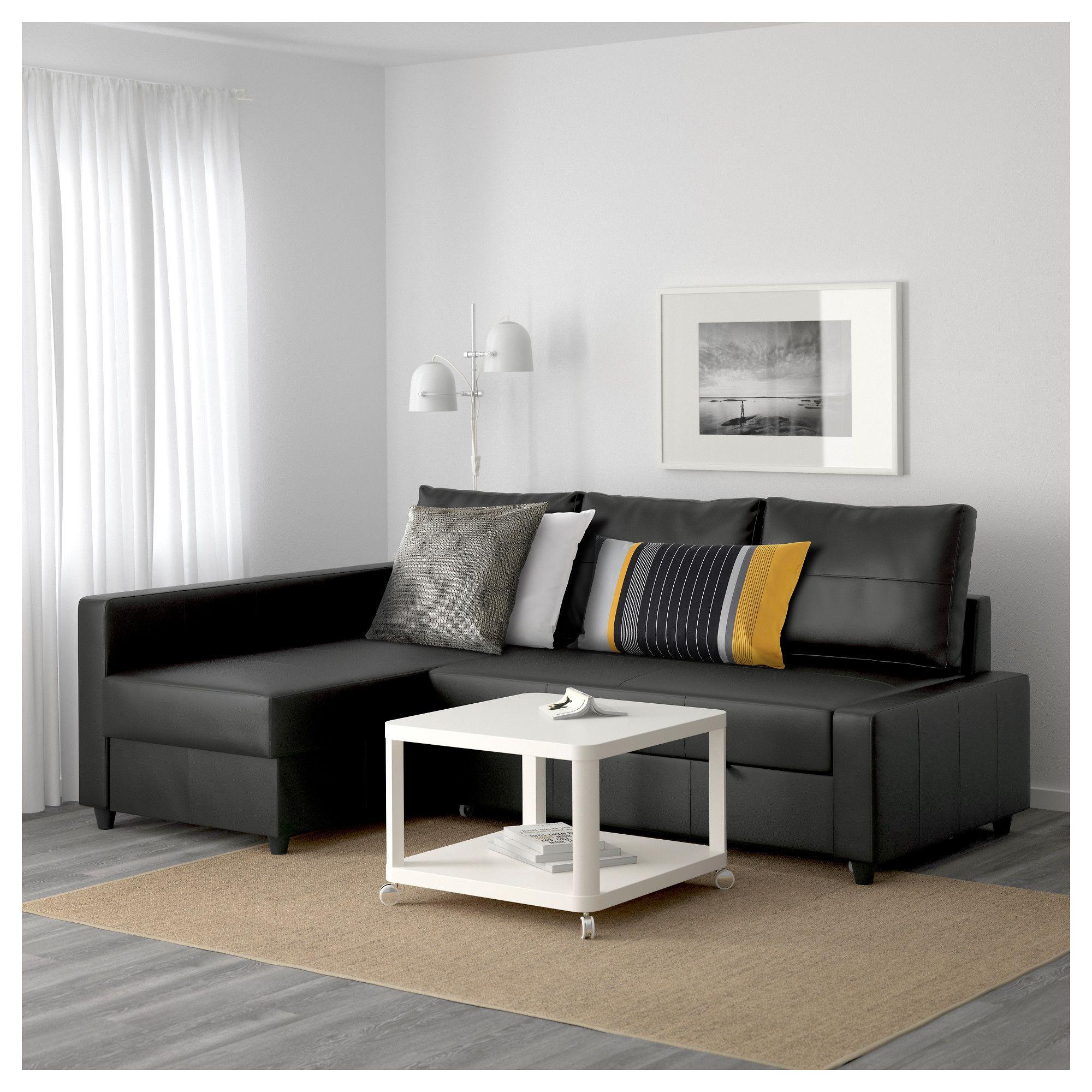 Astonishing Ikea Friheten Corner Sofa Bed With Storage Bomstad Black Onthecornerstone Fun Painted Chair Ideas Images Onthecornerstoneorg