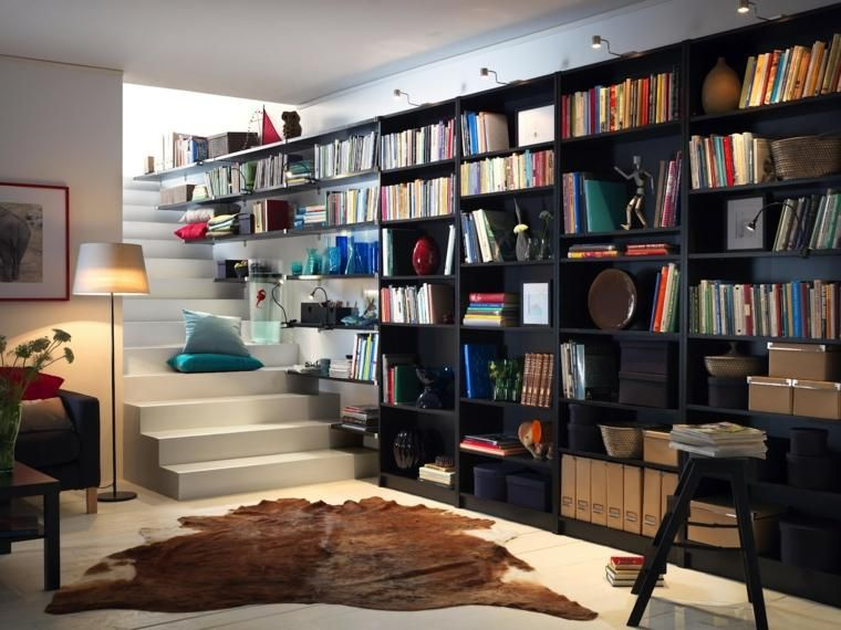 Schon Große Bibliotheken Für Moderne Wohnzimmer #Große #Bibliotheken #für #moderne  #Wohnzimmer