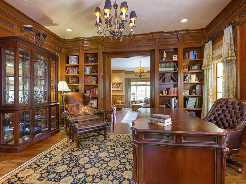 Built In Crafts Man Style Home Offices