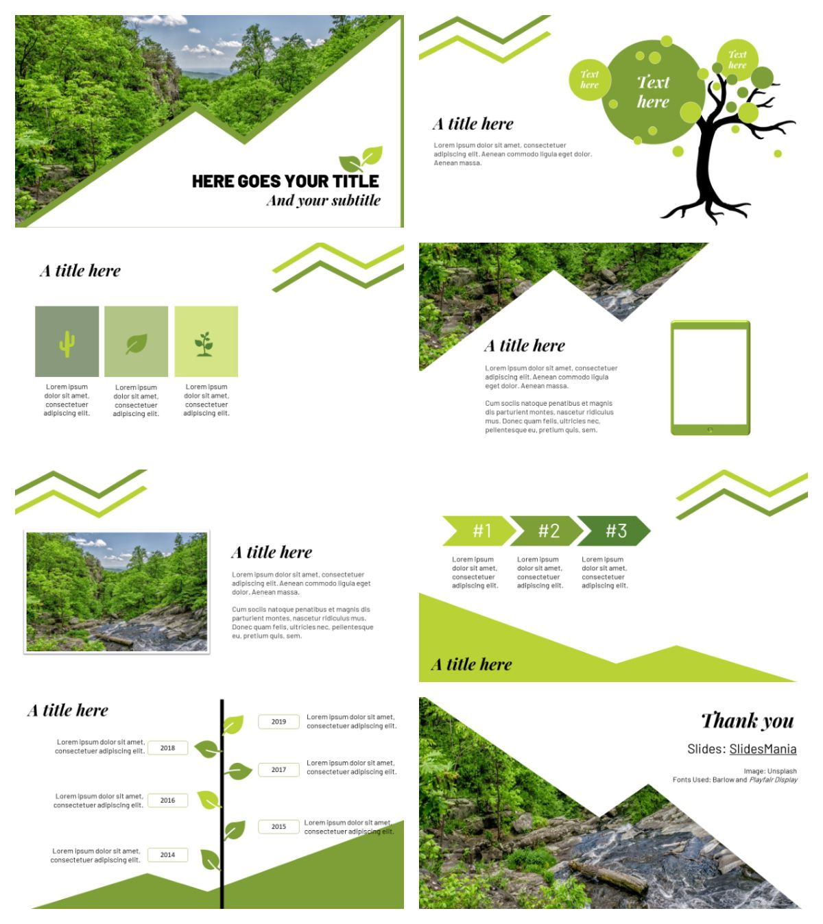 Green Free Template For Google Slides And PowerPoint