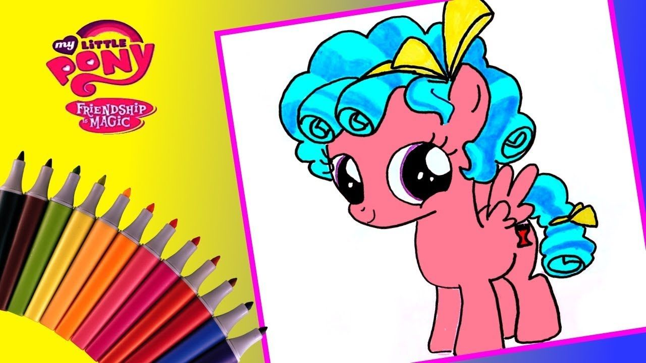 Cozy Glow My little pony drawing and coloring! #mlp, # ...