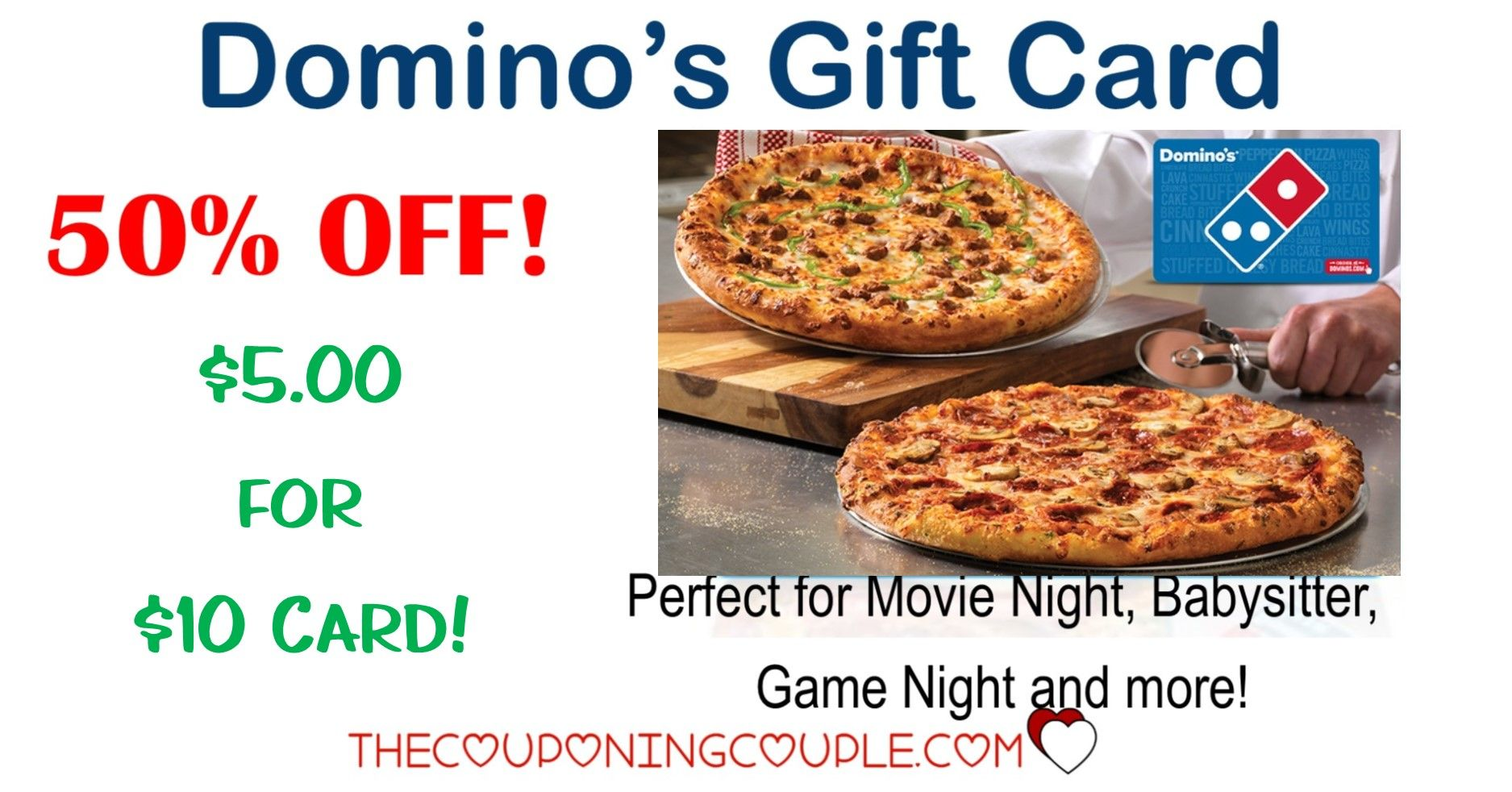 Hot Deal 25 Dominos Pizza Gift Card For 20 Pizza Gifts Dominos Pizza Domino