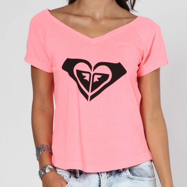 Blusa Roxy Vintage Forever - Rosa  f1ae0be9d96f3
