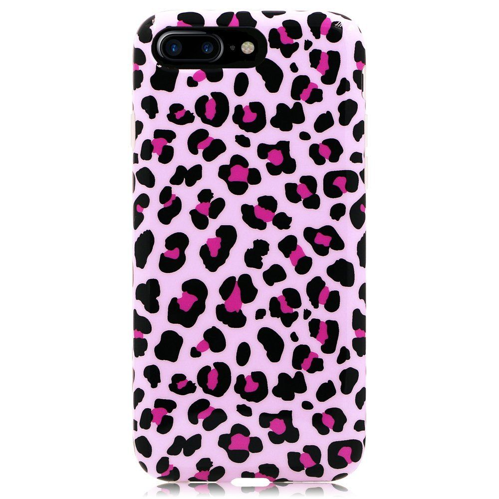 leopard print iphone 8 plus case