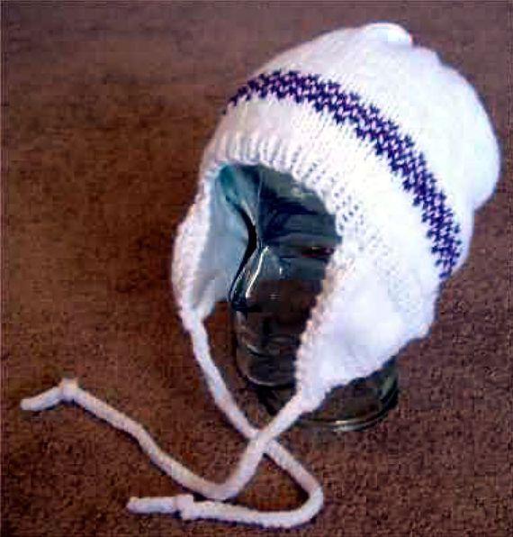 Adult Ear Flap Hat - - Knit ePattern | Knitted hats ...