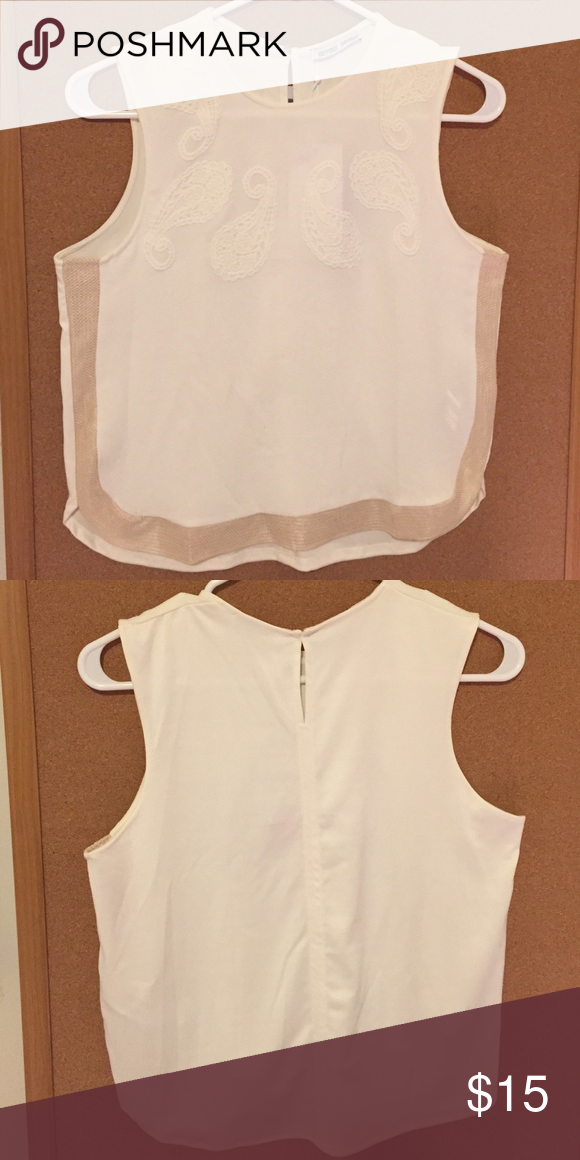 c7034b87c8 Zara white T-shirt NWT | Customer support and Delivery