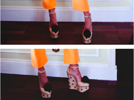 Charlotte Olympia Melody Raffia Platform Wedges as seen on The Man Repeller 1,369