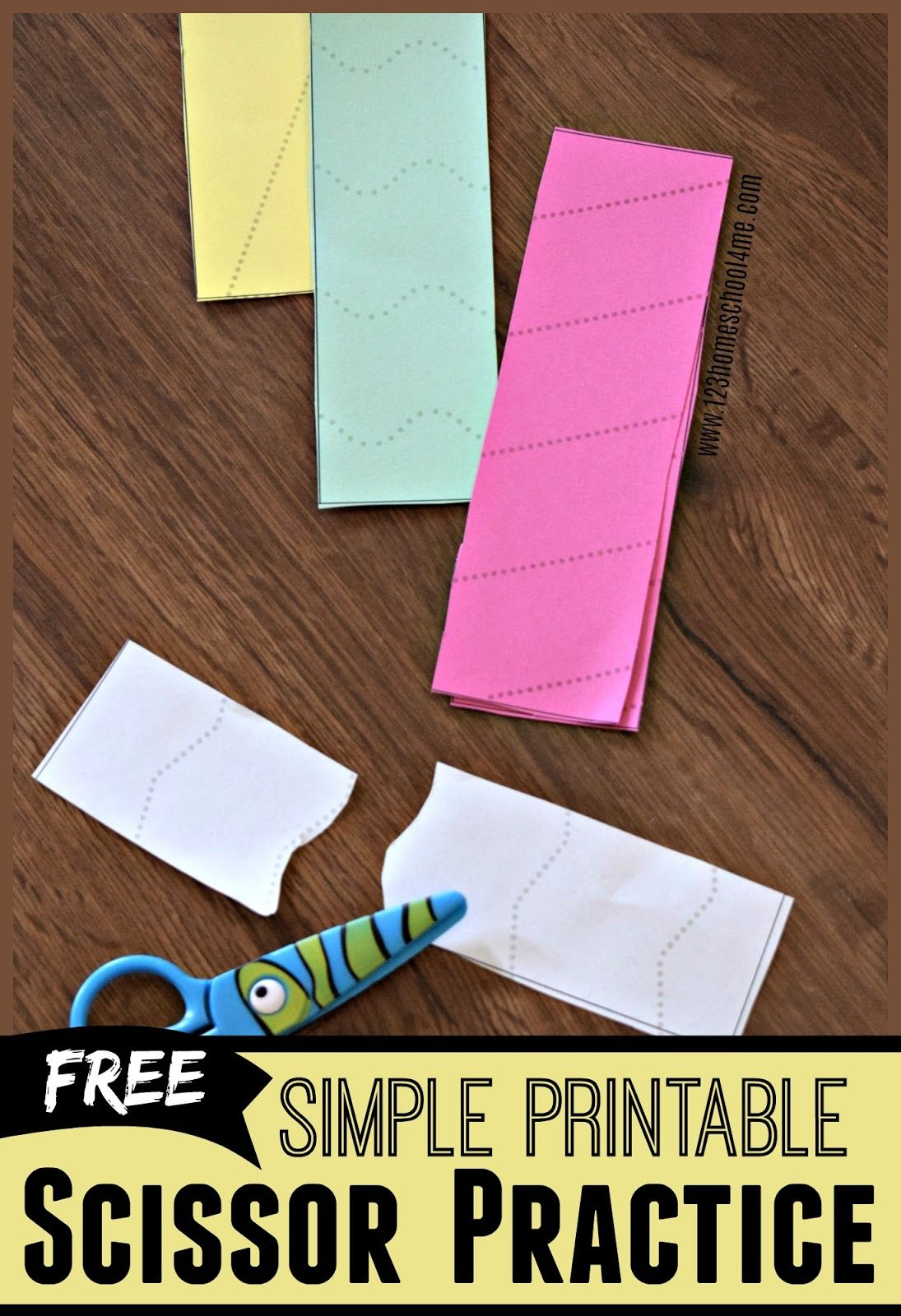 Simple Scissor Practice Sheets
