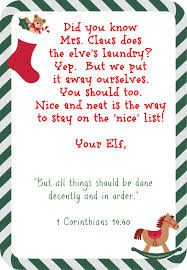 Ambitious image for elf on shelf letter printable