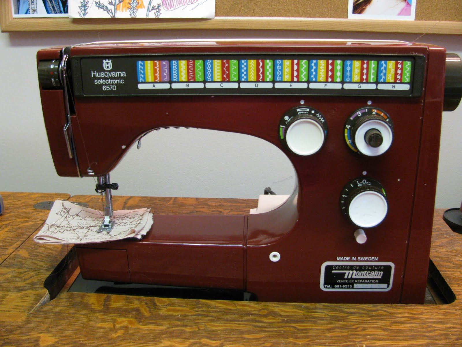 The sewing machine I currently own! Vintage Viking Husqvarna ... : viking quilting machines - Adamdwight.com