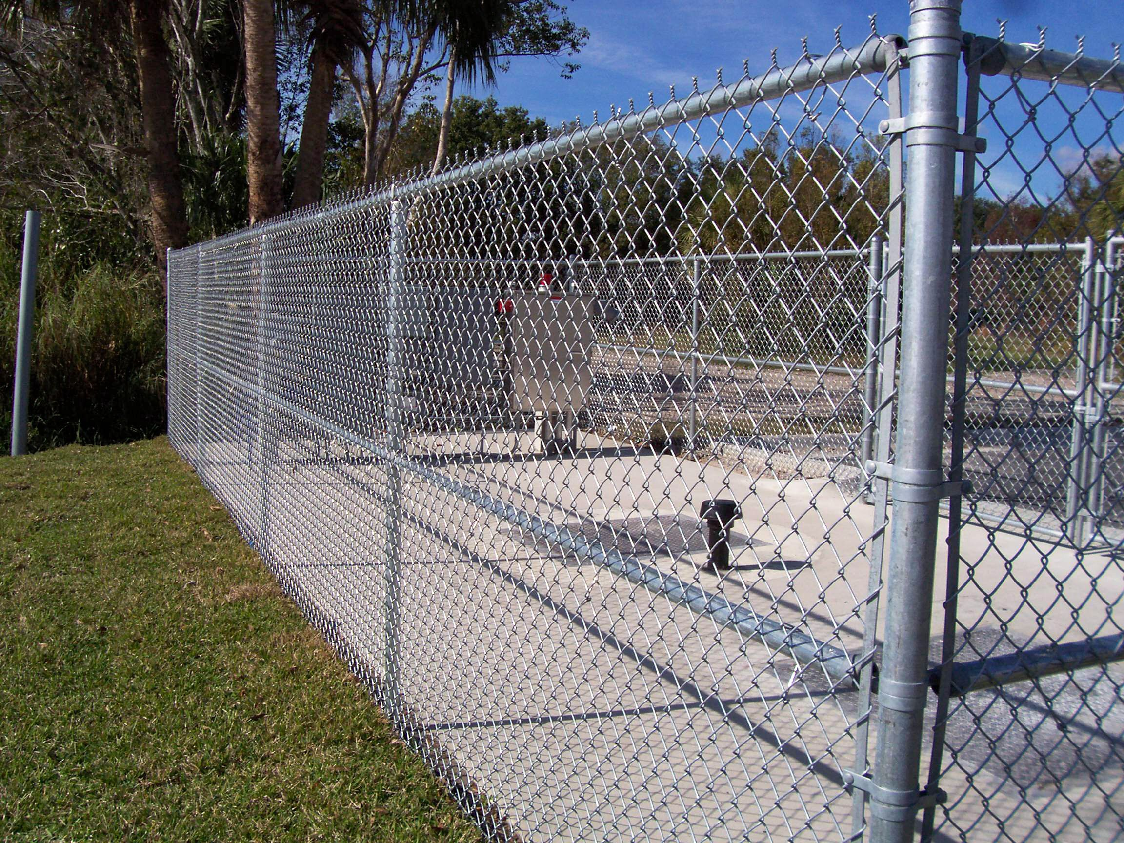 industrial metal fence google search