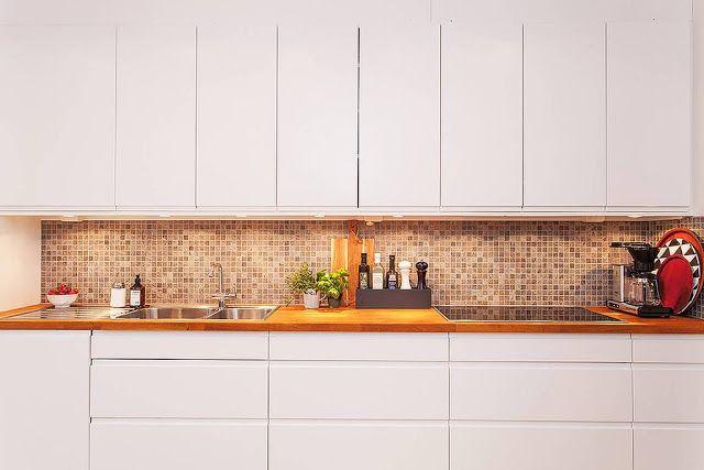 Materiales para la pared de la cocina 21 cocinas cocinas paredes de cocina y revestimiento - Materiales para estucar paredes ...