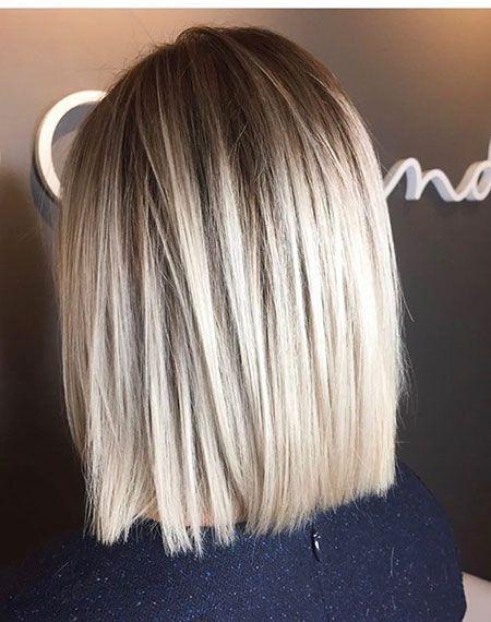 40 beste Schulterlänge Bob Frisuren #blondehair