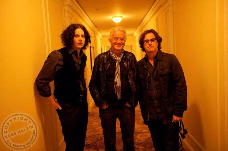 Davis Guggenheim, Jack White, & Jimmy Page
