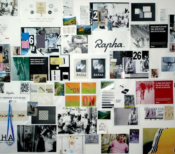Wall of pain / moodboard