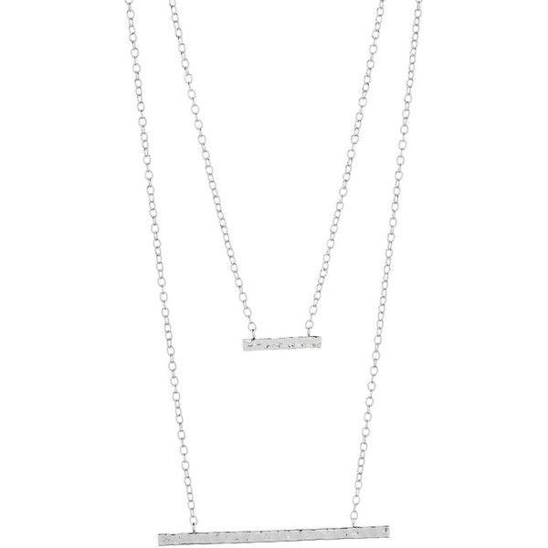 Gorjana mave layered pendant necklace 280 brl liked on gorjana mave layered pendant necklace 280 brl liked on polyvore featuring aloadofball Choice Image