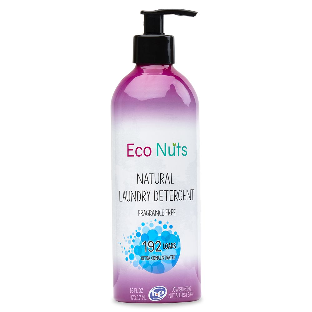 Eco Nuts Natural Liquid Detergent Organic Laundry Detergent