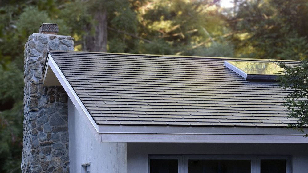 Here's what the first Tesla solar roofs look like in the