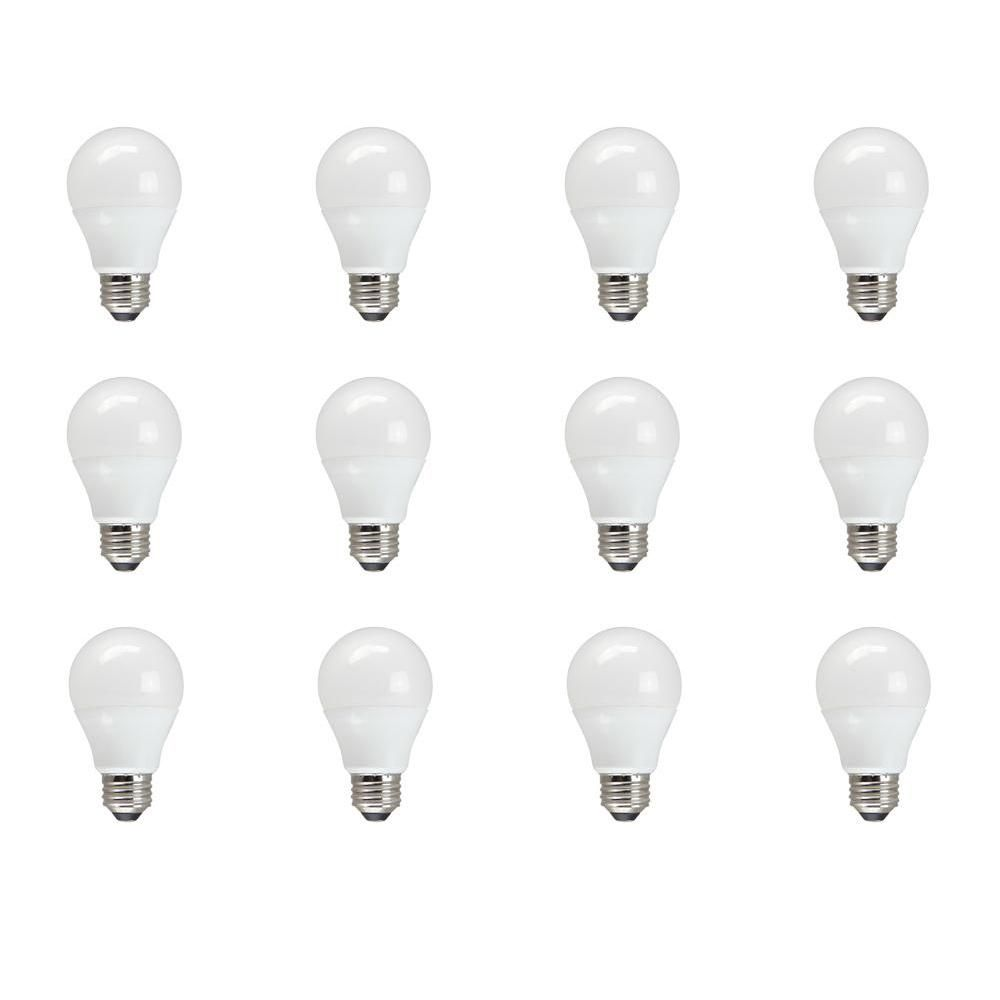 60w Equivalent Soft White A19 Non Dimmable Led Light Bulb 12 Pack