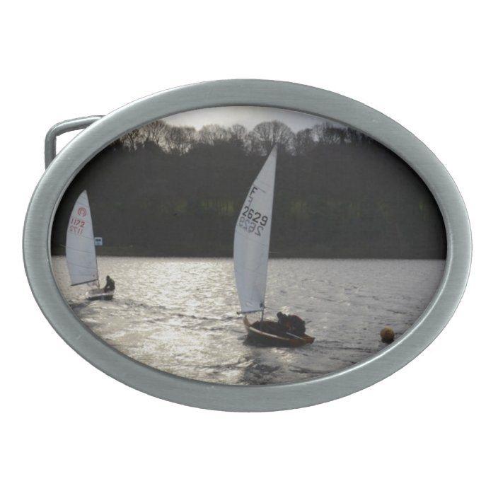 Firefly and Tasar Sailboats Rectangular Belt Buckle | Zazzle.com