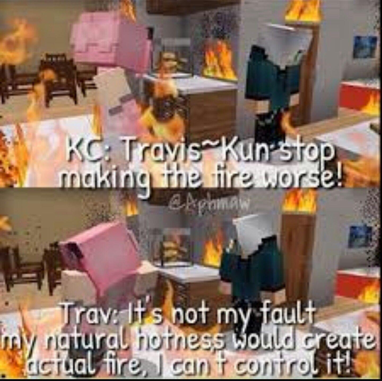 Ohh Travis So True Tho What Aphmau Aphmau Memes Aphmau Fan Art