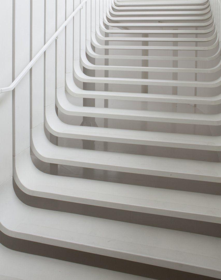 Floating Staircase - Design Zaha Hadid Architects