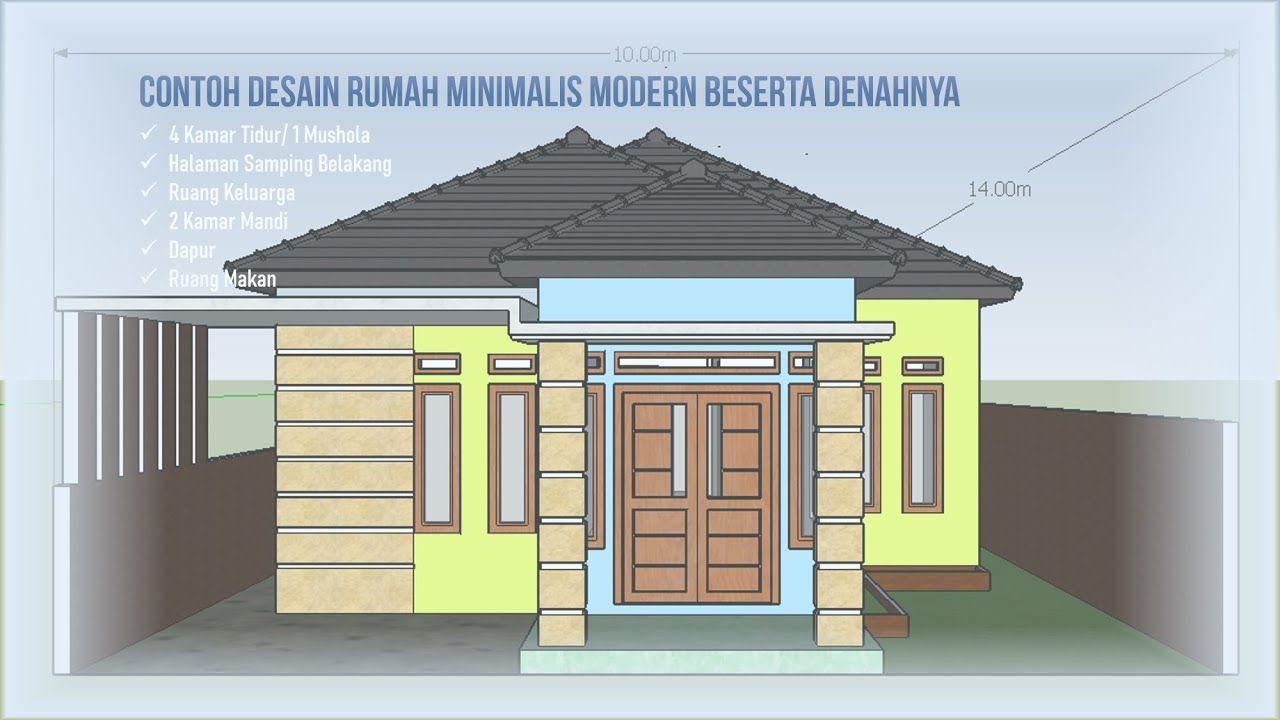 Desain Model Rumah Minimalis Atap Limas
