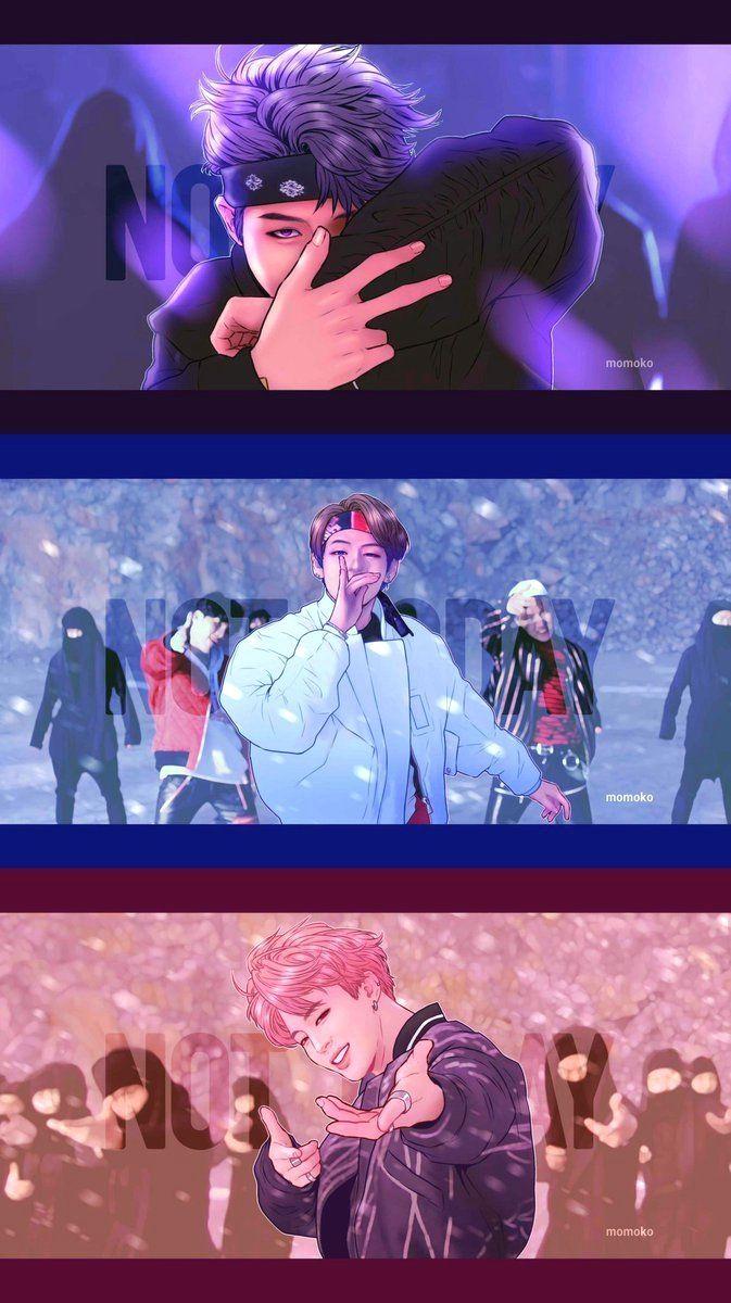 Photo of LunarNoona | BTS | Bangtan | V | Taehyung | Jhope | Jungkook | Rapmonster | Rapm …