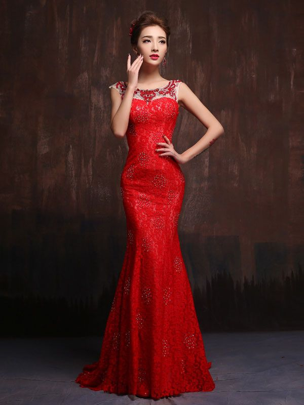 scarlet red bridesmaid dresses red | Top 50 Scarlet-Red Bridesmaid ...
